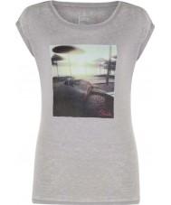 Dare2b レディース安らかな灰色のマールのTシャツ