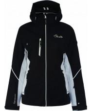Dare2b DWP334-80010L レディースエッチングライン黒のジャケット - サイズ10(S)