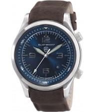 Elliot Brown 202-007-L07 メンズブラウンレザーストラップの腕時計をcanford