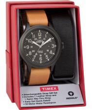 Timex TWG016200 Mens遠征のスカウトウォッチギフトセット