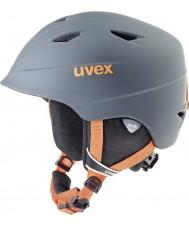 Uvex 5661325803 Airwingプロチタンオレンジスキーヘルメット -  52〜54センチメートル