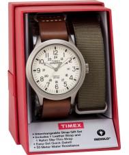 Timex TWG016100 Mens遠征のスカウトウォッチギフトセット