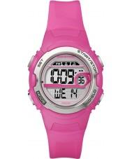 Timex T5K771 レディース鮮やかなピンクマラソンスポーツ時計