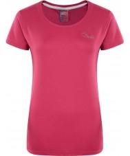Dare2b DWT337-1Z008L レディースインパルス電気ピンクのTシャツ - サイズUK 8(XS)