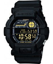 Casio GD-350-1BER メンズG-SHOCKの世界の時間黒の時計