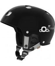 POC PO-66005 受容体のバグ調節可能な2.0光沢のあるウラン黒スキーヘルメット -  51〜54センチメートル