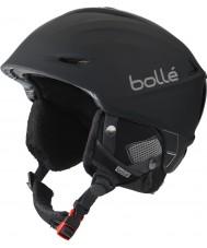 Bolle 31186 シャープ黒ジギタリススキーヘルメット -  54〜58センチメートル