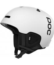 POC PO-75086 オーラのカット水素ホワイトスキーヘルメット -  55〜58センチメートル