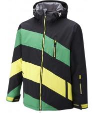 Surfanic SW121003-401-XL メンズシボレー黒緑のジャケット -  XLサイズ