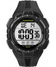 Timex TW5K94800 デジタルフルマラソン黒いクロノ腕時計