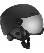 Cebe CBH125 火の玉黒スキースキーヘルメット -  58〜62センチメートル