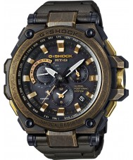 Casio MTG-G1000BS-1AER メンズG-SHOCK黒電波GPS腕時計