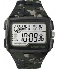 Timex TW4B02900 メンズ遠征デジタルショックカーキ迷彩クロノウォッチ