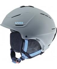 Uvex 5661535407 P1usグレーブルースキーヘルメット -  59〜62センチメートル
